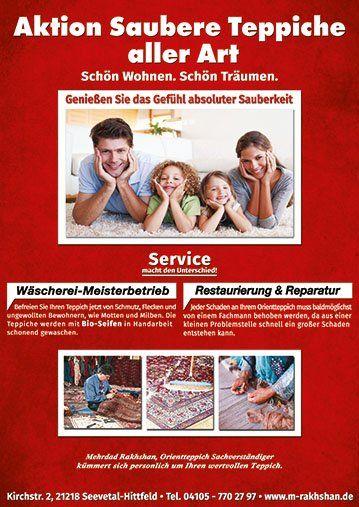Aktion saubere Teppiche aller Art auf was-wo-finden.de