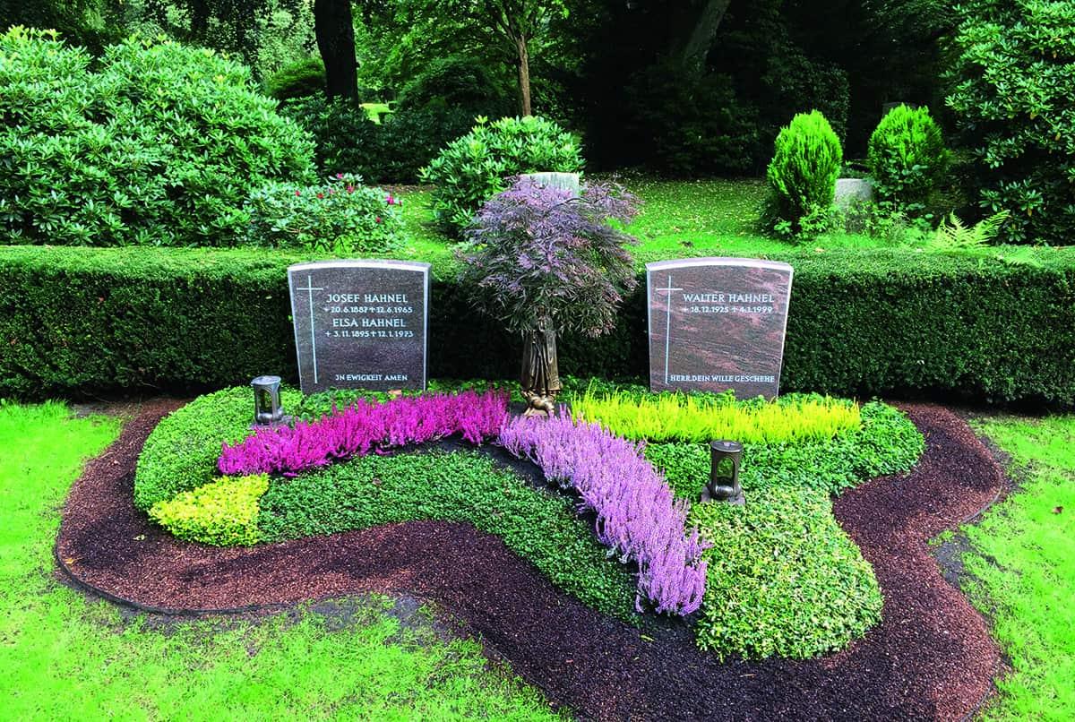 Grabgestaltung und Grabpflege Nordheide – Friedhofsgärtnerei Westphal