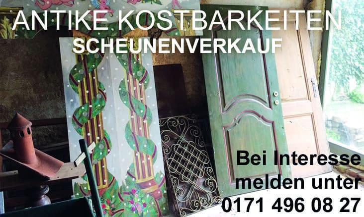 Antike Kostbarkeiten - Scheunenverkauf auf was-wo-finden.de