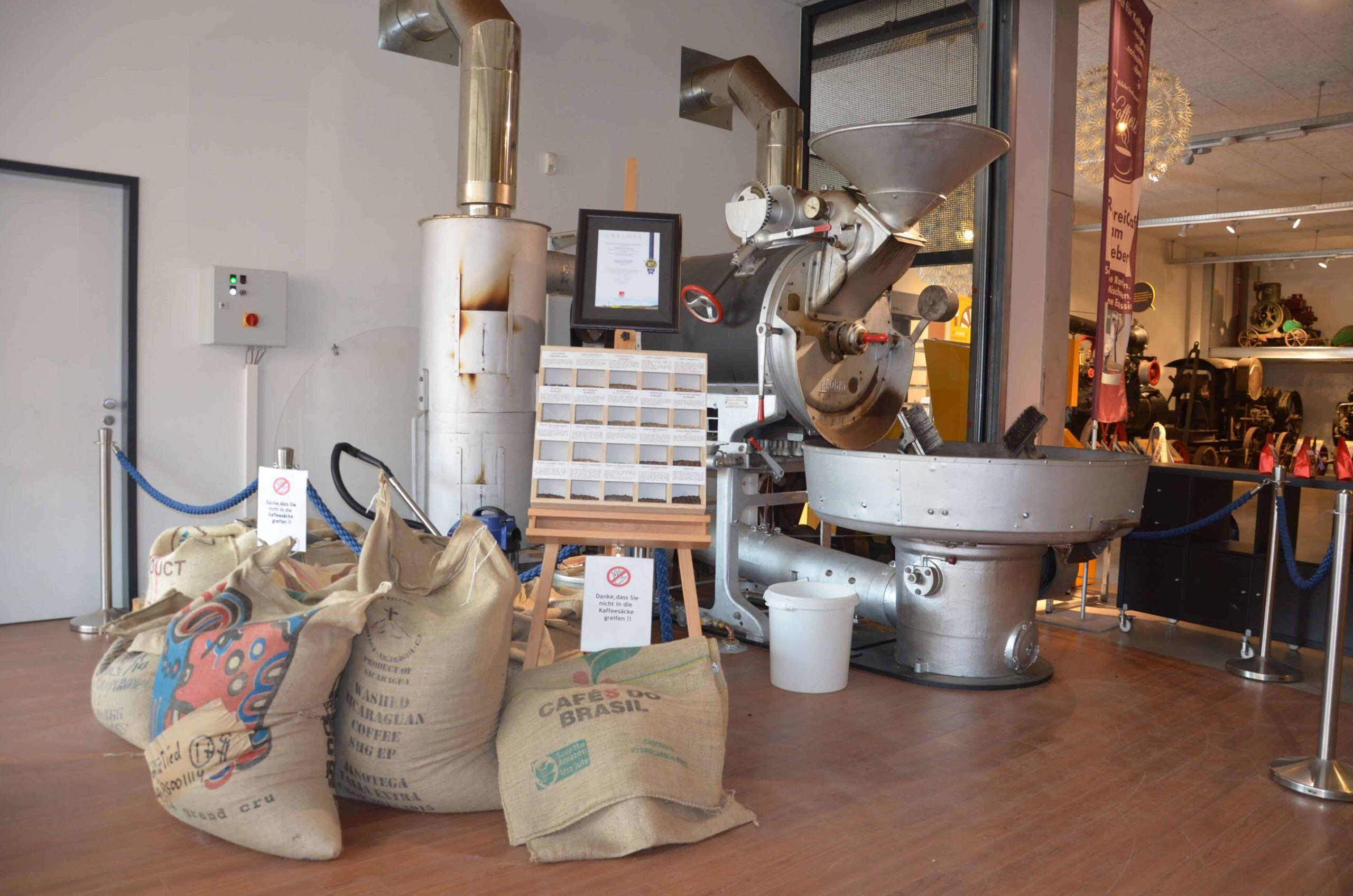 Kaffeerösterei - Koffietied