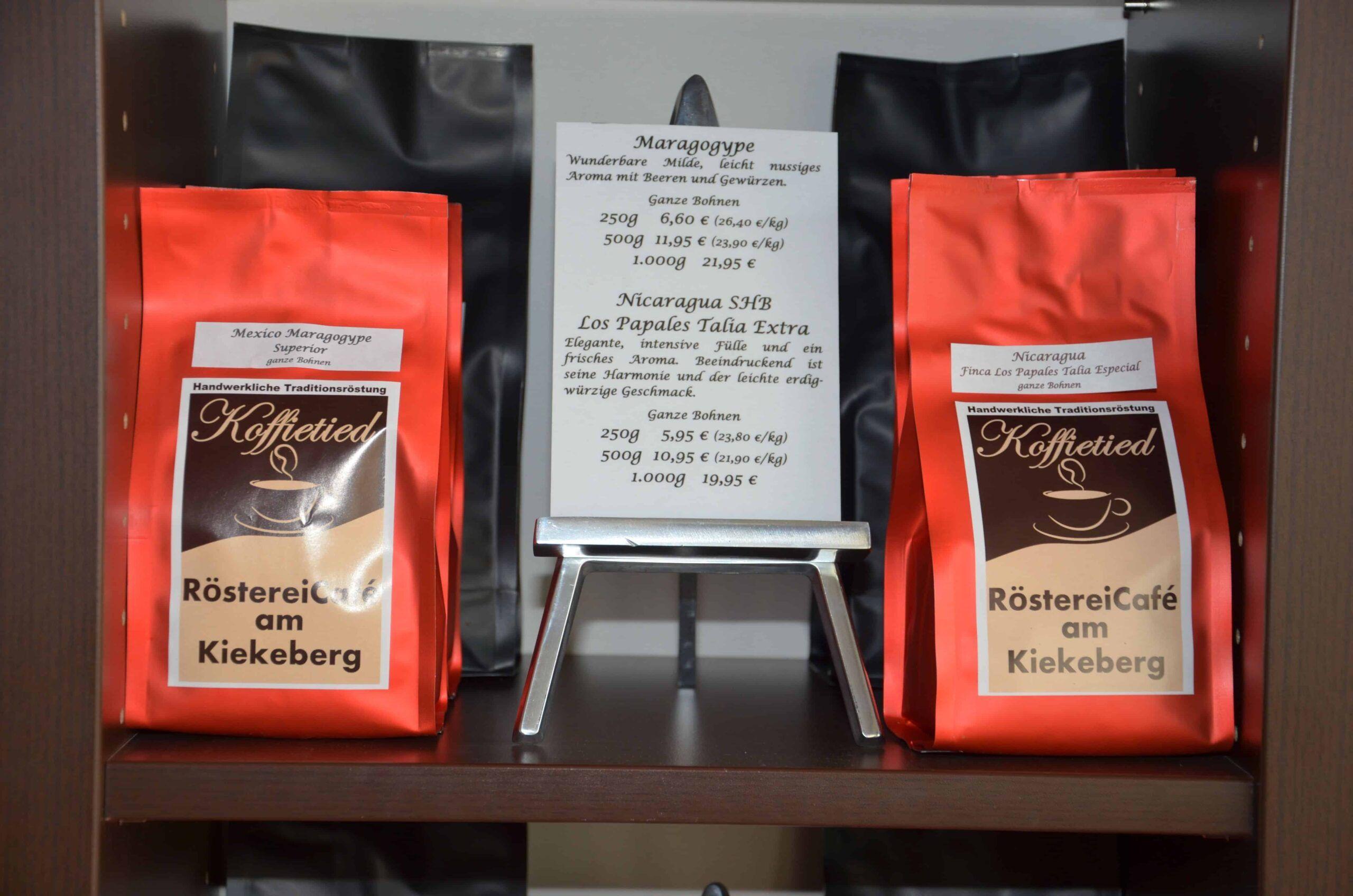Kaffeerösterei - Koffietied Hausmischung