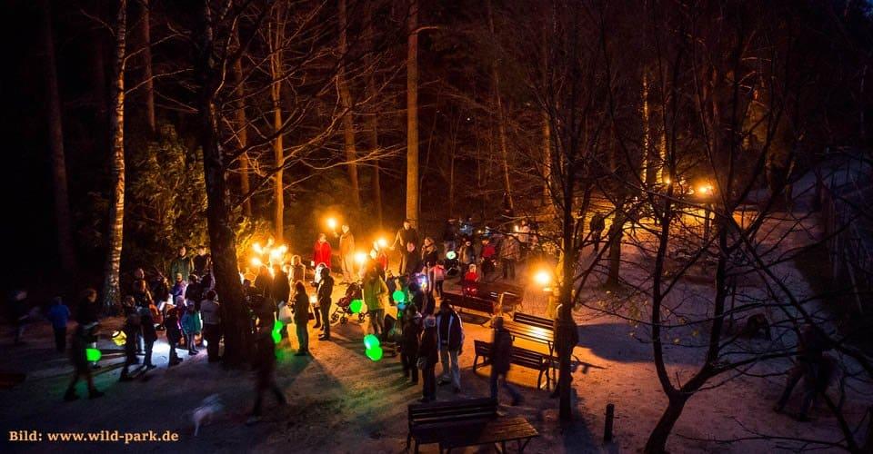 Wildpark Lüneburger Heide Karte.St Martin Lichterfest Im Wildpark Lüneburger Heide Was Wo Finden