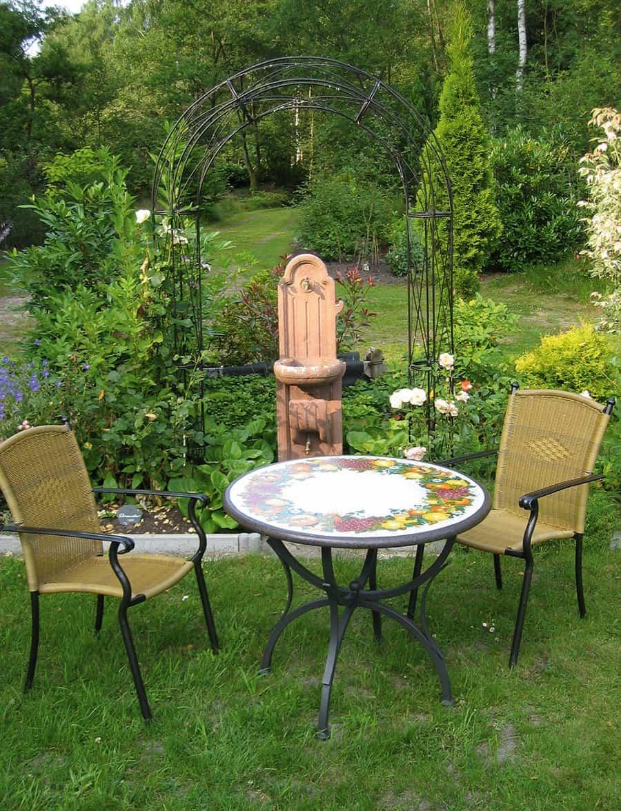 Italienische Garten- und Balkontische - Giardino Allegro