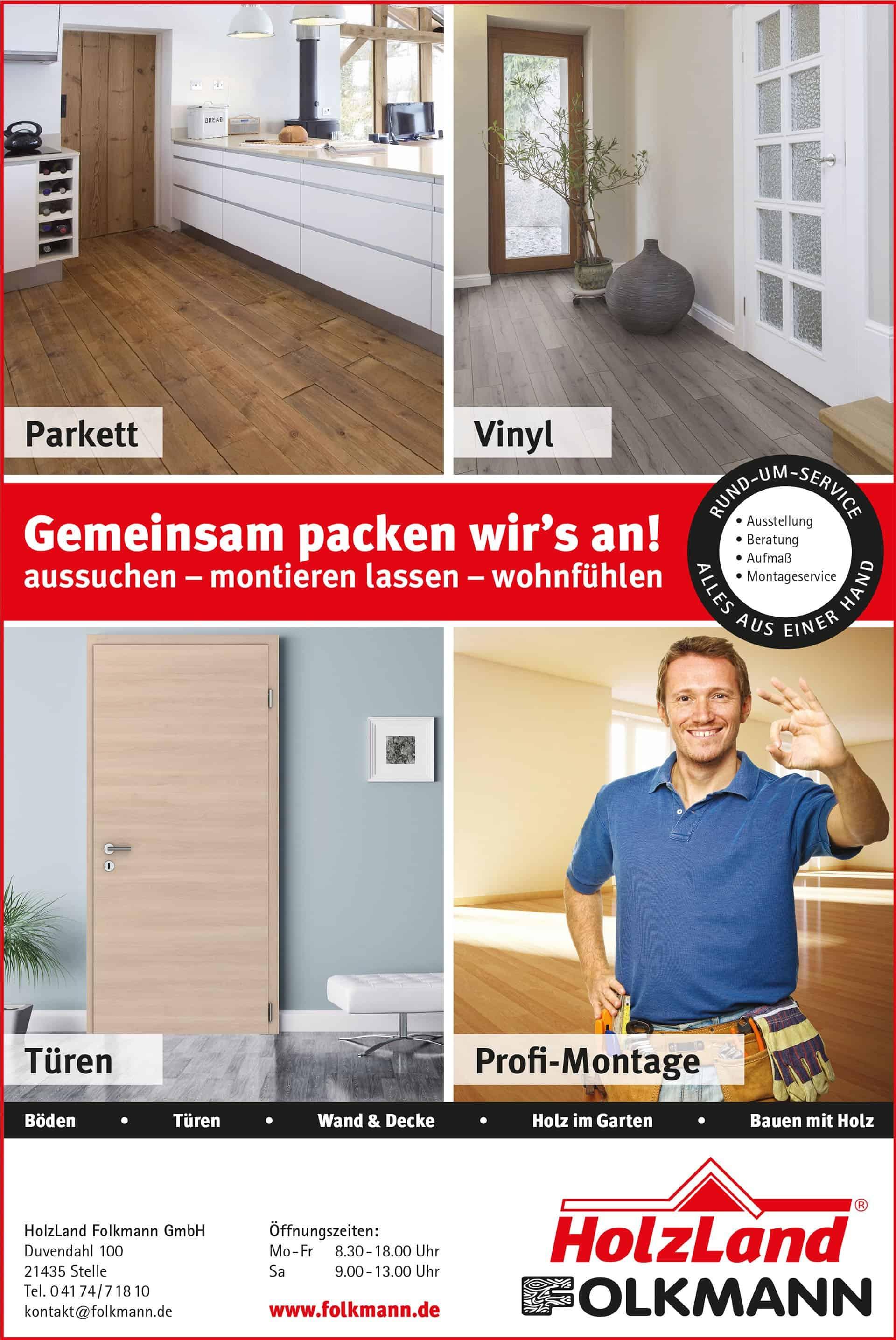 Holzland Folkmann Parkett & Türen im Landkreis Harburg