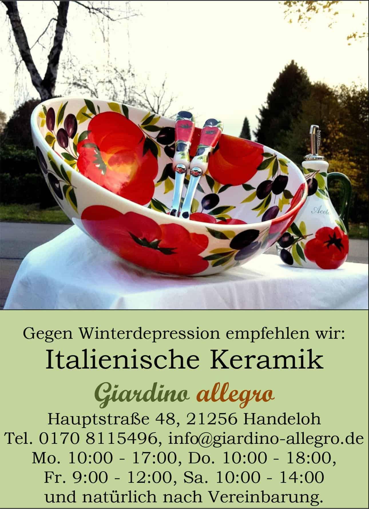 Italienische Keramiken