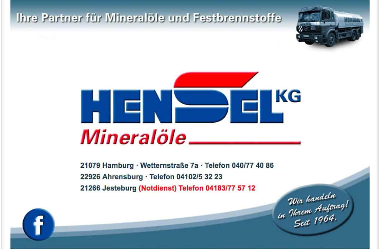 Brennstoffhandel mit Notdienst Nordheide - Hensel KG