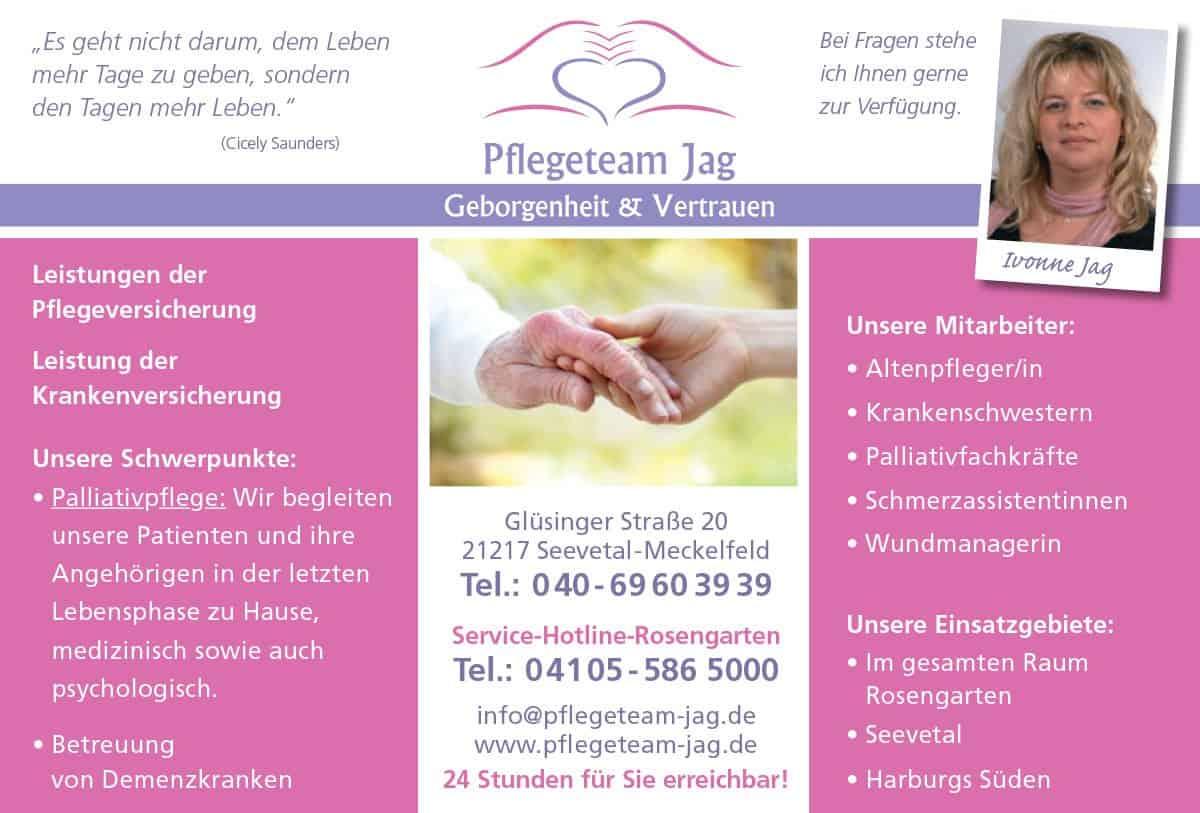 Altenpflege Nordheide - Pflegeteam Jag