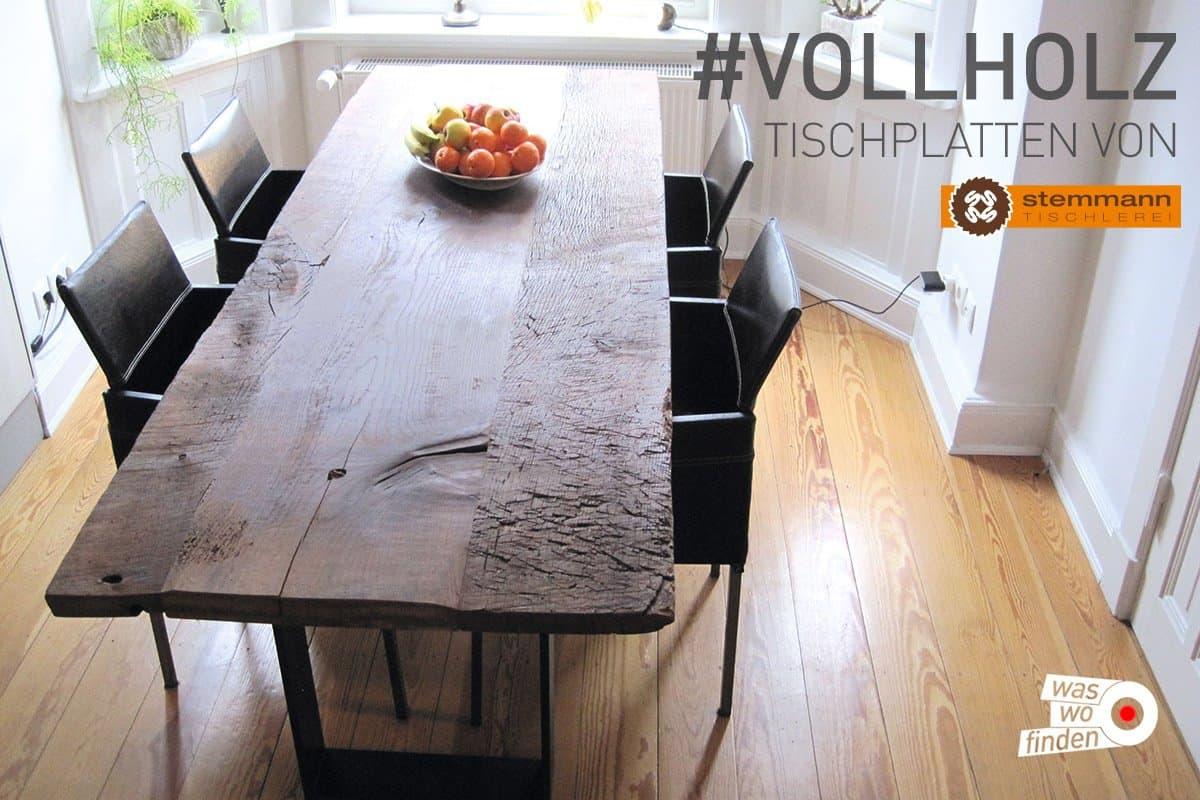 Vollholz Tischplatten Tischlerei Stemmann