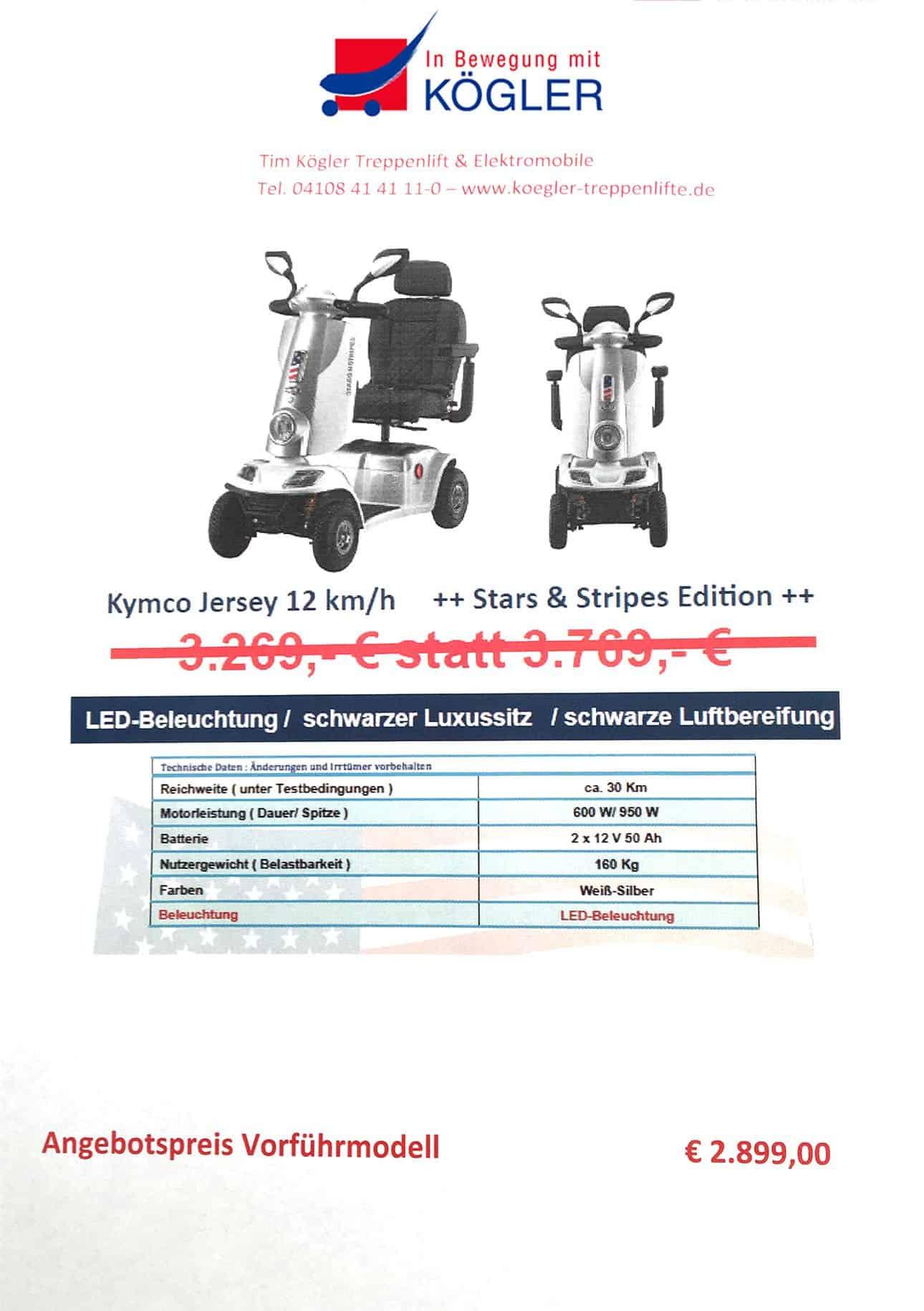 Elektromobil Angebot - Kögler