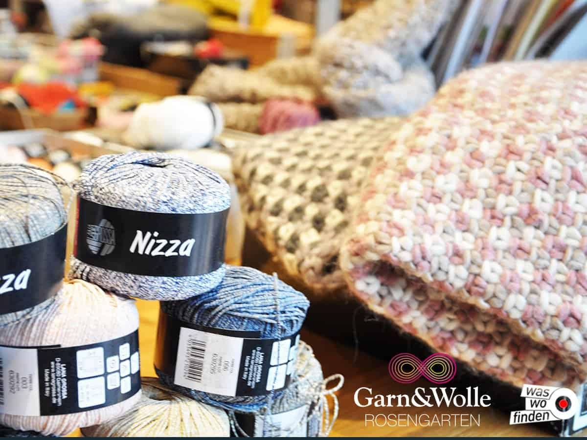Garn&Wolle Rosengarten - LANA GROSSA Handstrickgarne