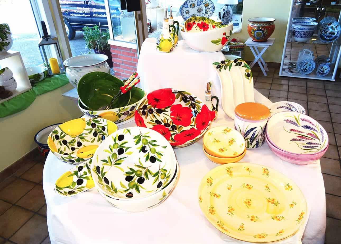 Italienische Keramiken - Giardino Allegro