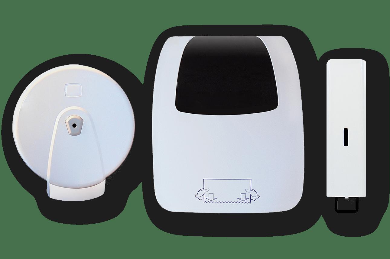 Handtuchspender und Seifenspender - SWF-Syteme