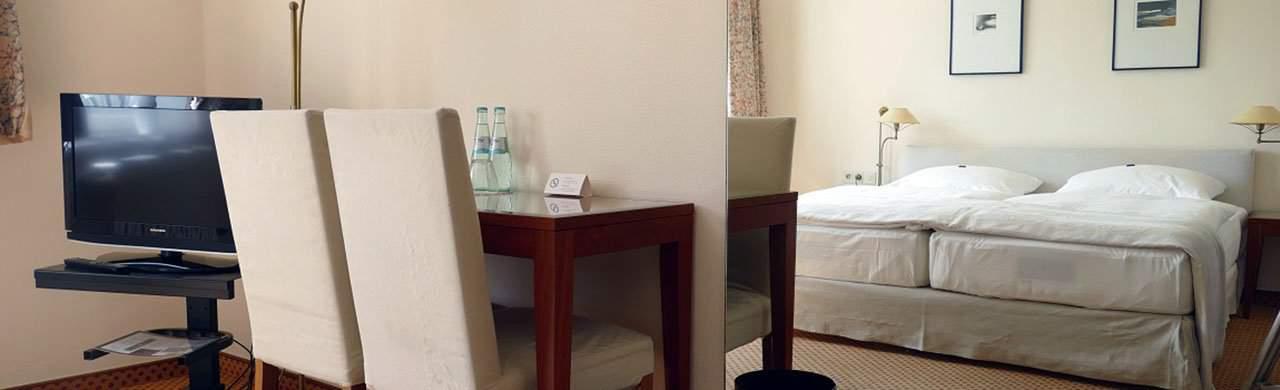stilvoll ausgestattete Zimmer - Meyers Hotel