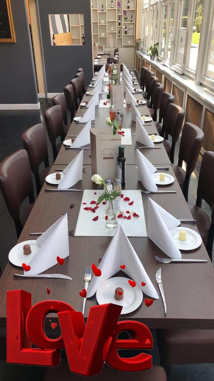 WasWoFinden Tavernba Oniro Hochzeitstafel