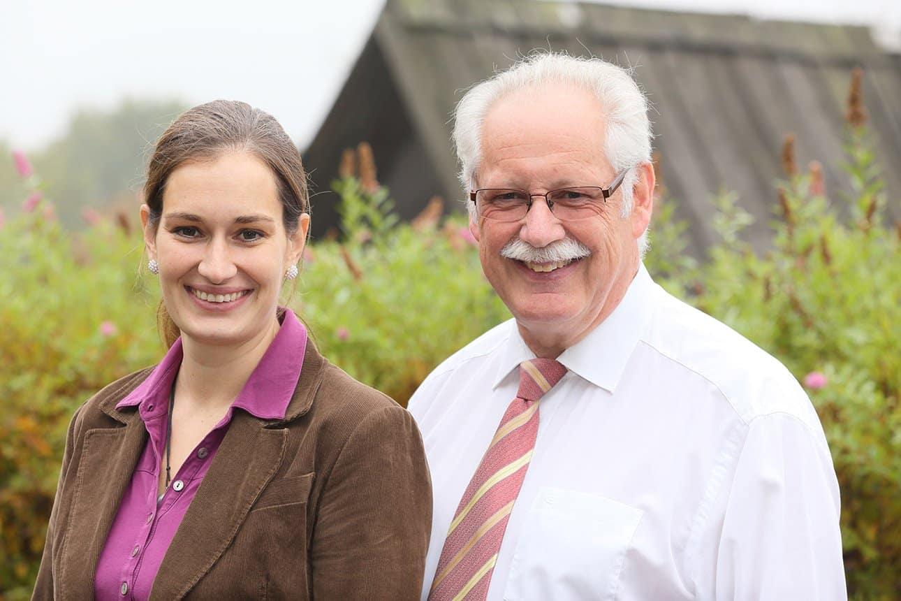 Ihre Ansprechpartner – Irma Schuster und Johannes Schuster im Gasthaus zum Kiekeberg
