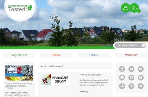 Homepage der Samtgemeinde Tostedt