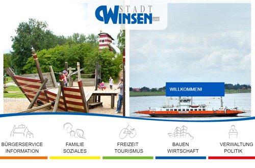 Homepage der Stadt Winsen