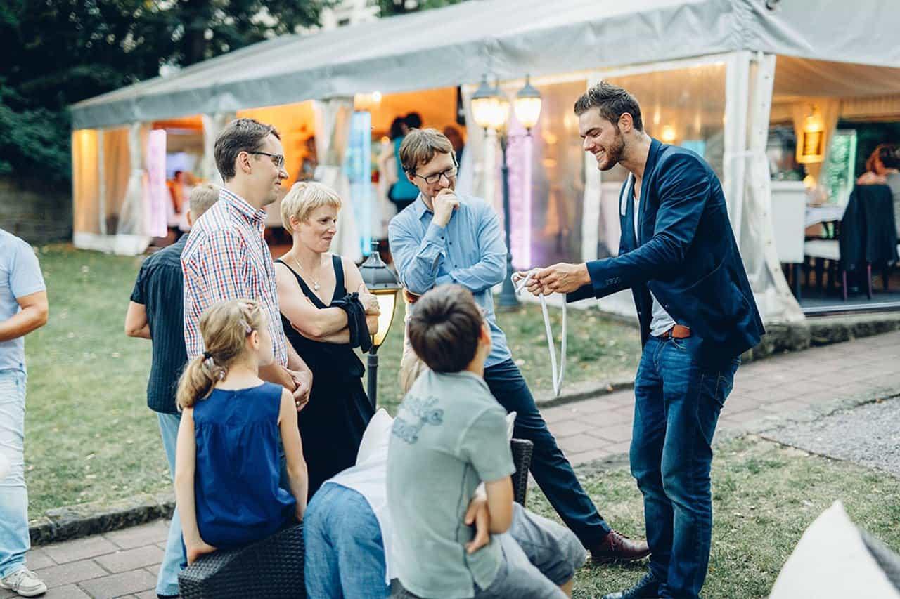 Magische Hochzeitsmomente mit Ben David