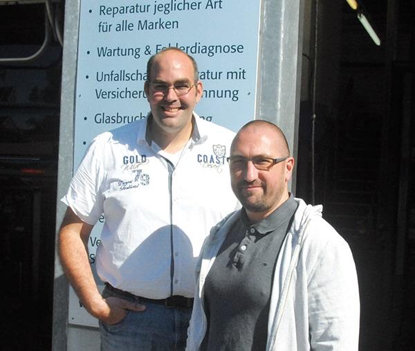 Steffens Automobile Kay Gerken und Daniel Steffen