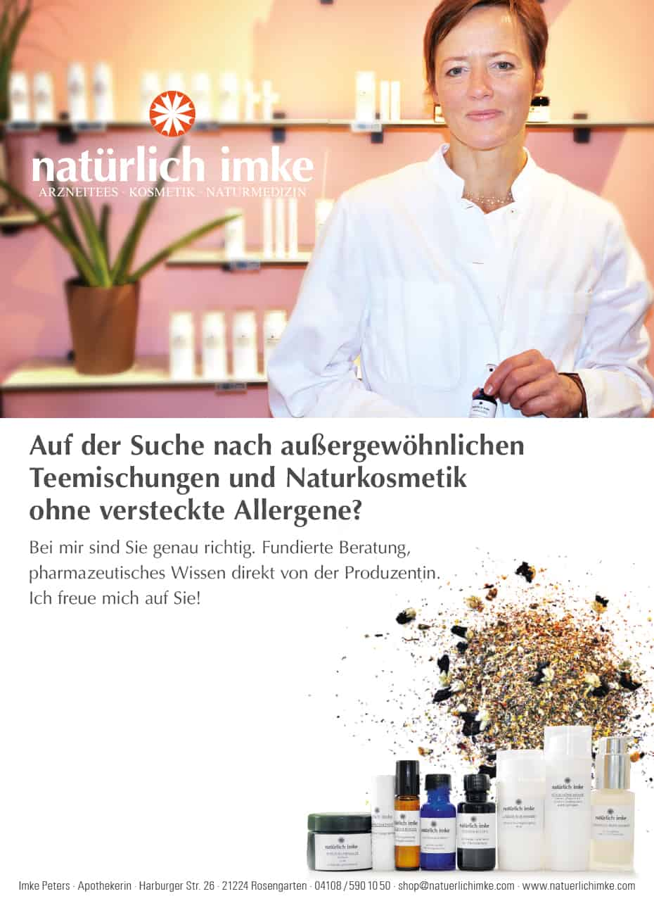 Naturkosmetik Hamburg - natürlich imke