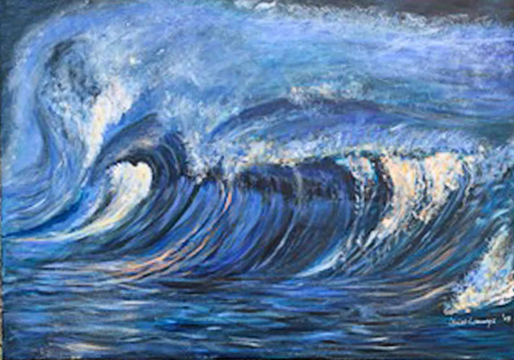 Bild Keusch-Wannags 6 Tsunami 50 x 60 cm