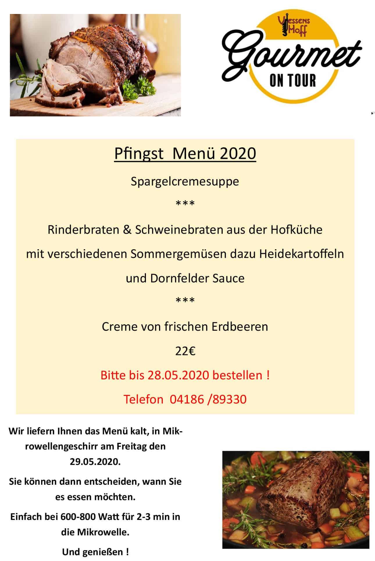 Pfingst Menü - Gourmet on Tour