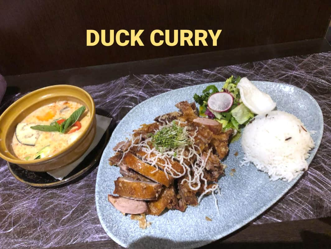 WasWoFinden Duck Curry
