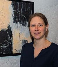 Die Kunstmalerin Gerit Grube