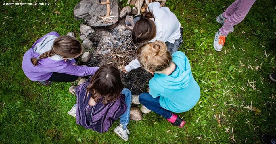 Ab in den Wald - Ferienprogramm für Kinder