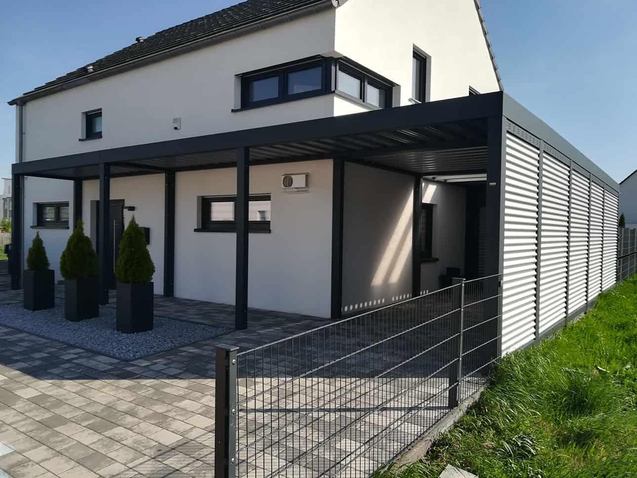 Stahl Carports - comodul Nordheide
