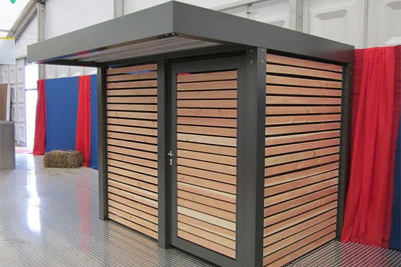 Gerätehäuser aus Metall - comodul Nordheide