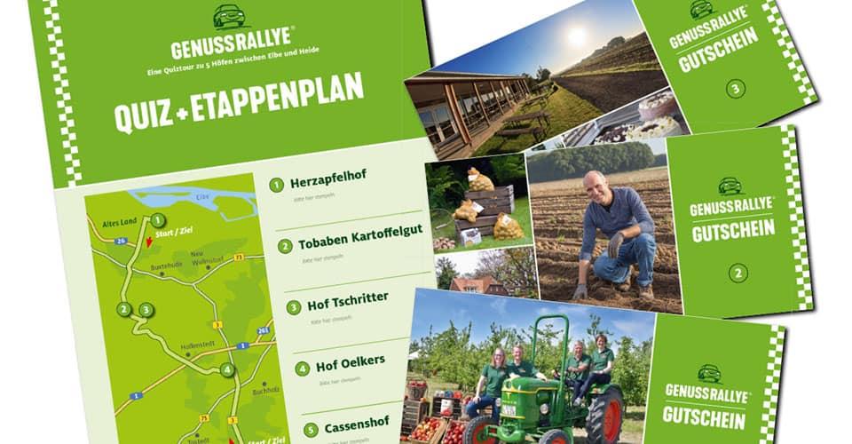 Genussrallye im Landkreis Harburg