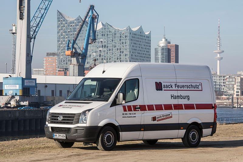 Maack Feuerschutz Hamburg Notdienst