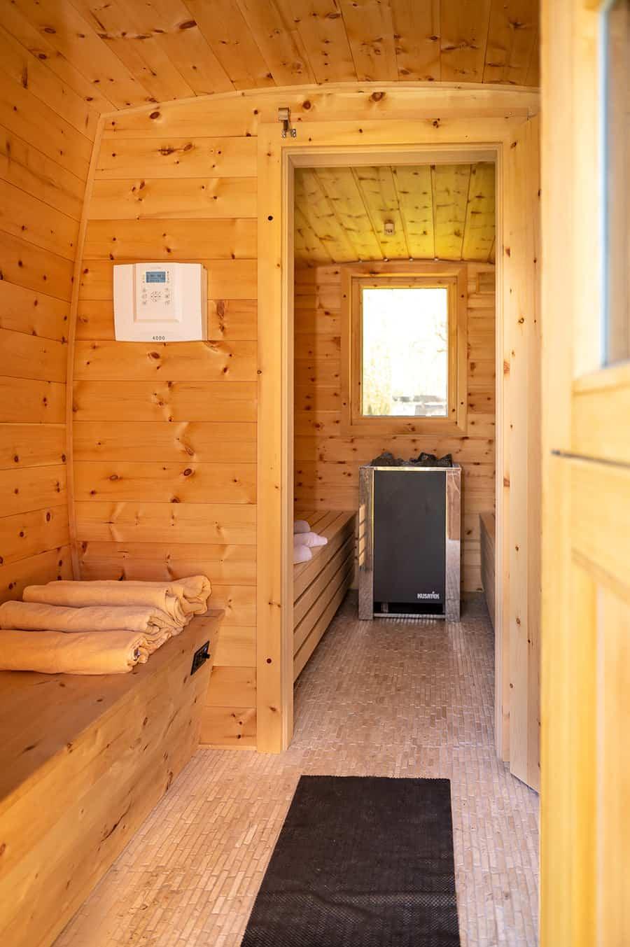 WasWoFinden Sauna innen