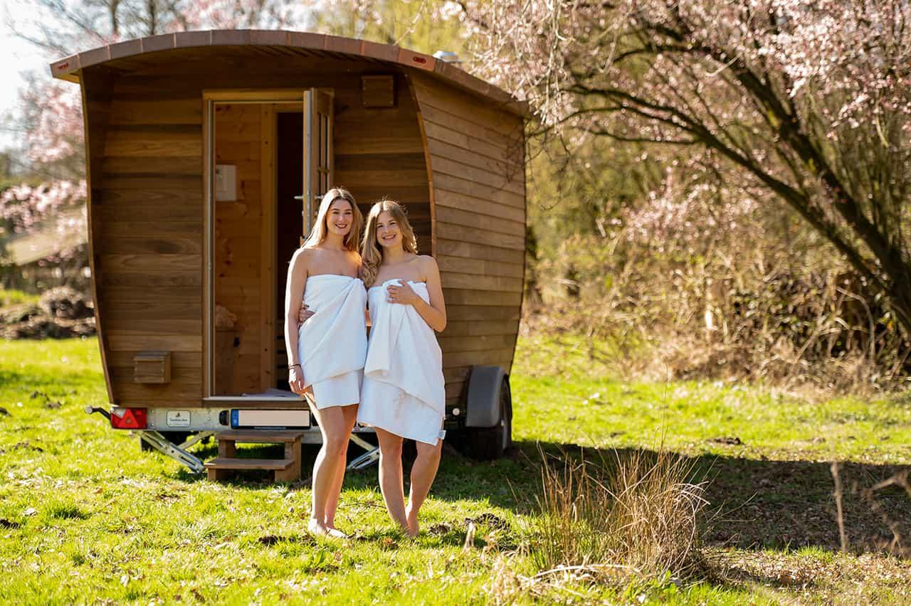 Die mobile Sauna vom Tannhaeuschen