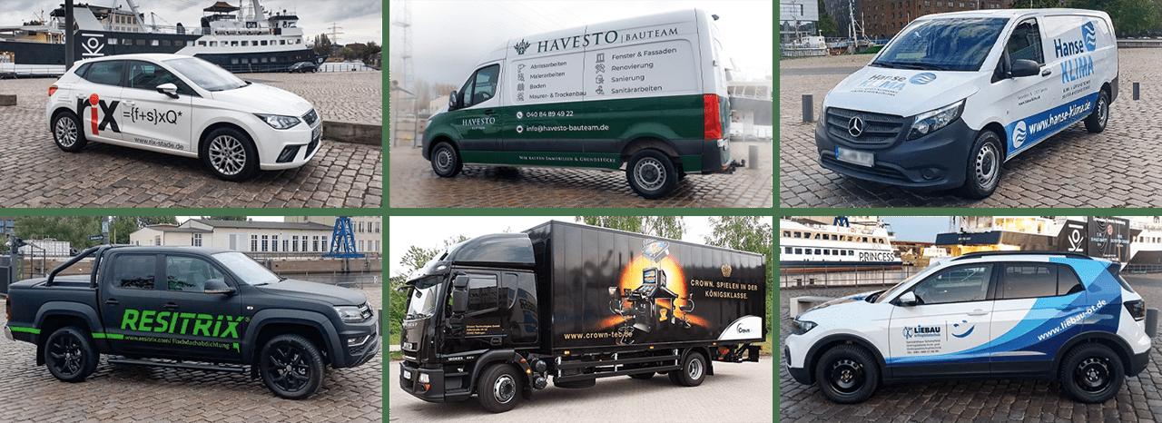 Fahrzeugbeschriftung Nordheide - Print-o-tec