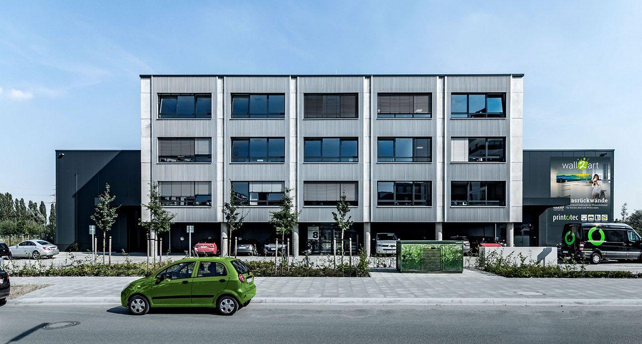 Print-o-tec Firmengebäude