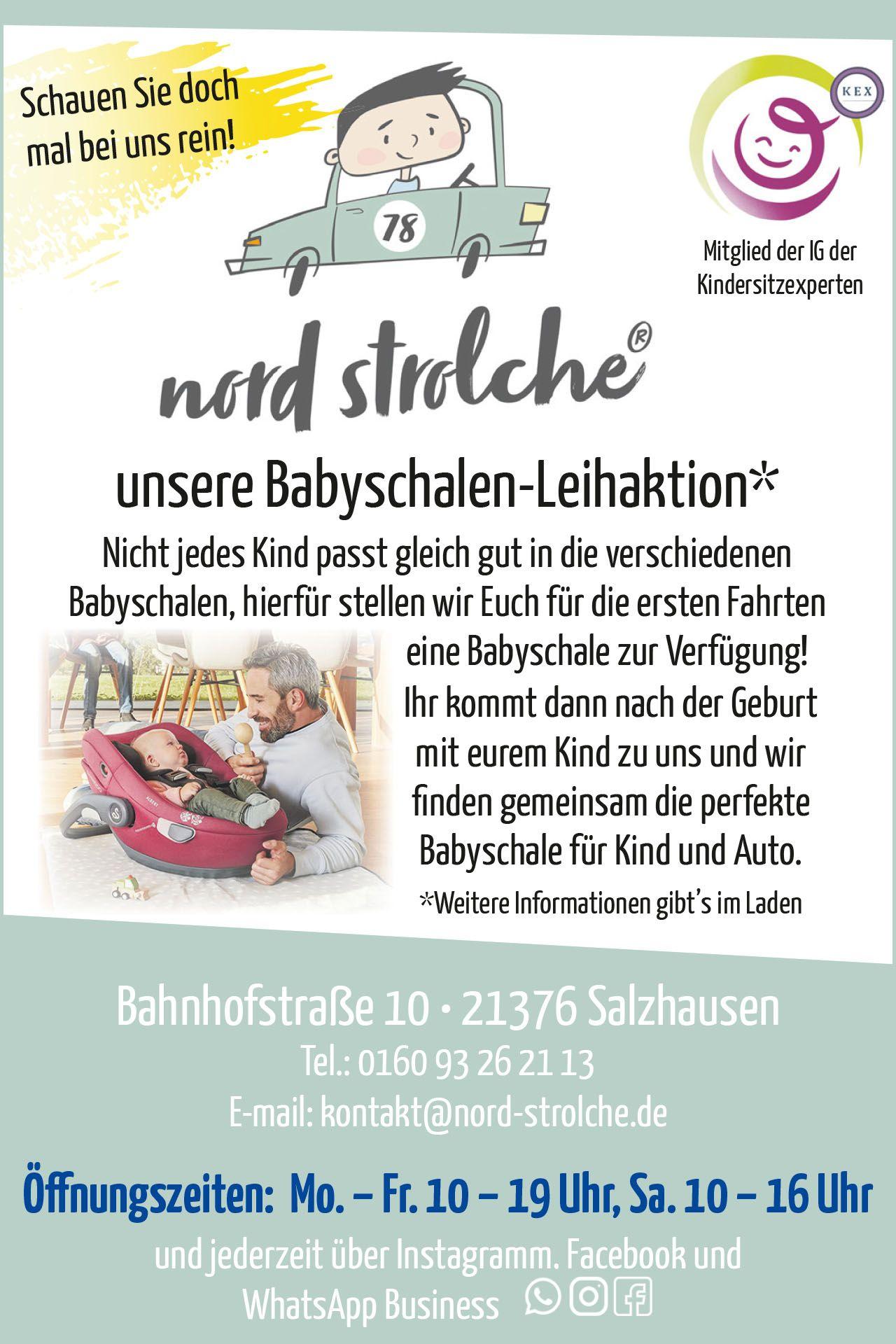 Babyschalen Leihaktion Nordheide